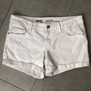 Pants - White Denim Shorts